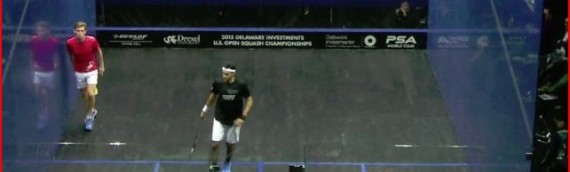 Gregg Loban v Elshorbagy 2015 US Open Highlights