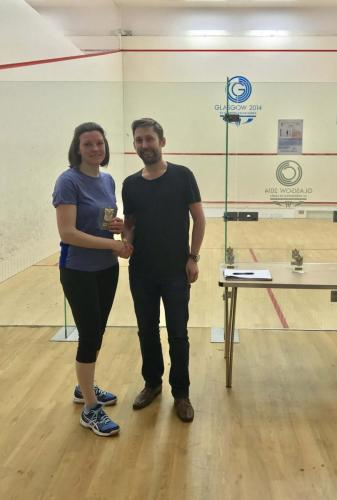 2017 Ladies Runner Up - Caren Chang